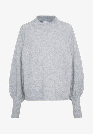 TAMIA - Strikkegenser - grey melange