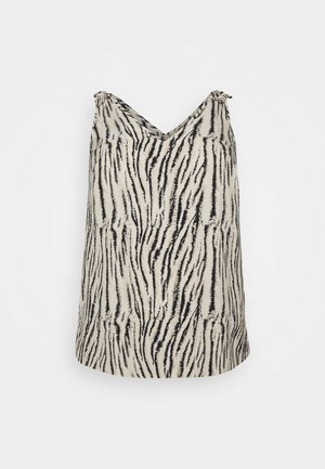 CURVE ZEBRA TIE VEST - Bluser - multi coloured
