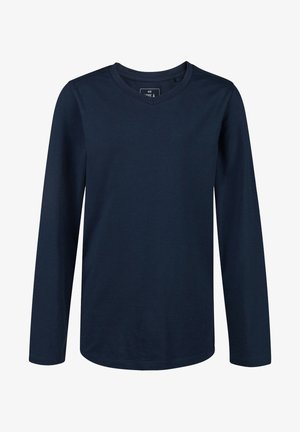 REGULAR FIT - Long sleeved top - dark blue
