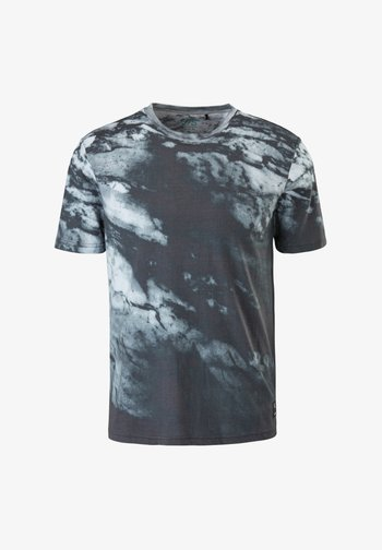 MIT WASCHUNG - Print T-shirt - black aop