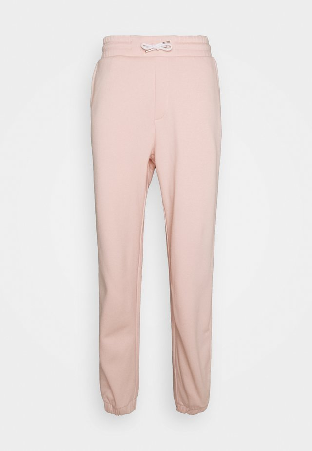 LOOSE FIT JOGGERS UNISEX - Träningsbyxor - pink