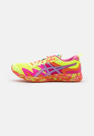 GEL-NOOSA TRI 12 - Competition running shoes - safety yellow/dragon fruit