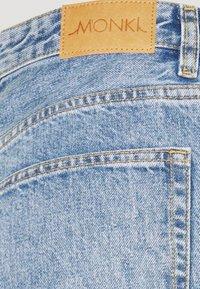 Monki - KYO - Jeans straight leg - blue medium dusty - 5