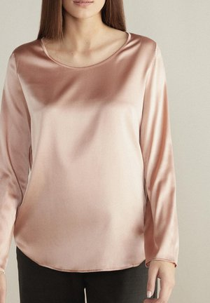 Long sleeved top - rosa -  tea rose