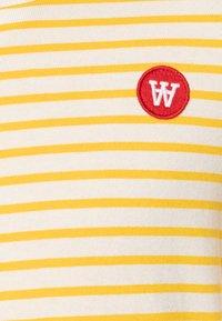 Wood Wood - KIM KIDS LONG SLEEVE - Long sleeved top - offwhite/yellow - 2