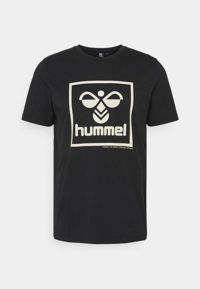ISAM - T-shirt con stampa - black