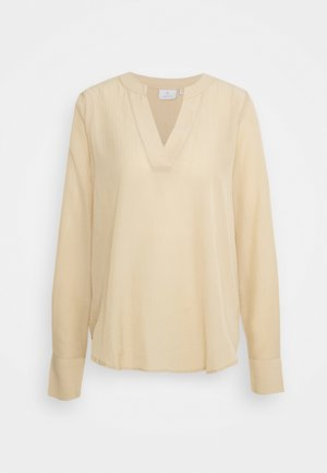 KASIMA - Long sleeved top - beige