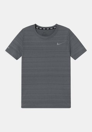 MILER - T-shirt basic - smoke grey
