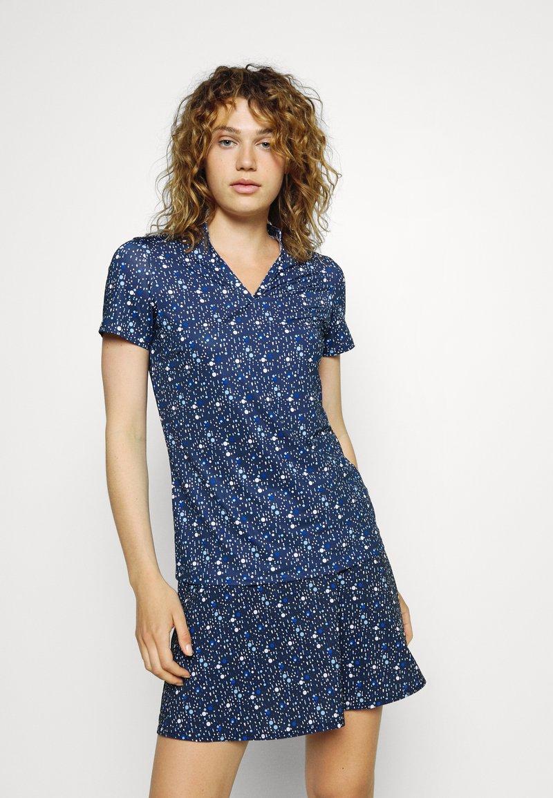 Puma Golf - MATTR DISPERSION - Print T-shirt - navy blazer/mazarine blue