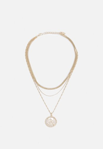ESSENTIAL TWIST COIN CHOKER - Necklace - gold-coloured