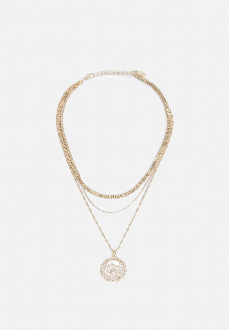 LIARS & LOVERS - ESSENTIAL TWIST COIN CHOKER - Necklace - gold-coloured