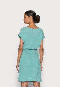 Esprit - DRESS  - Jersey dress - teal green - 2