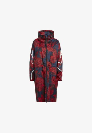 BY STELLA MCCARTNEY LONG LIGHTWEIGHT ALLOVER  - Outdoor jacket - red