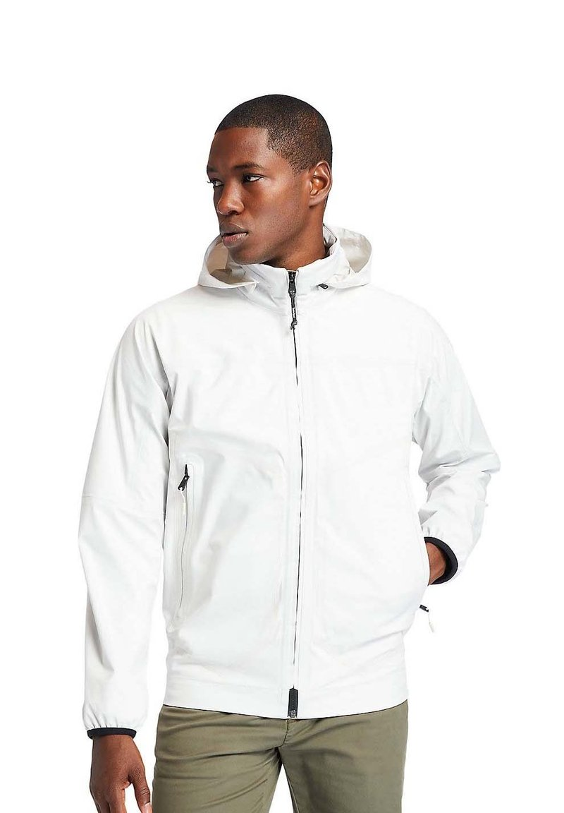 Timberland - CONTEMPORARY SAILOR  - Waterproof jacket - white sand