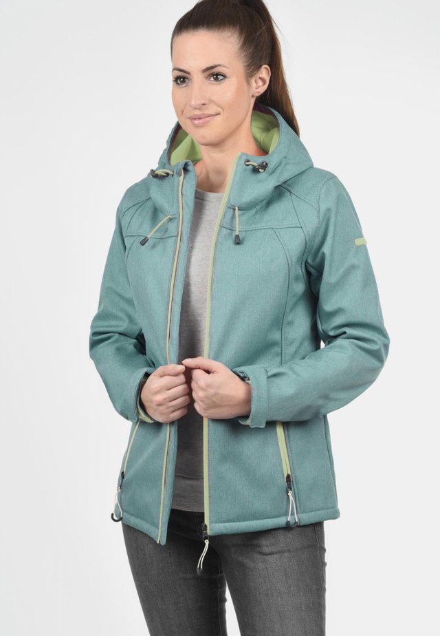 SOLEY - Soft shell jacket - green