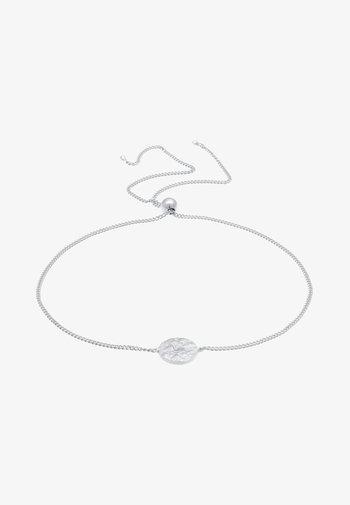 BASIC PLATE VINTAGE LOOK - Bracelet - silber