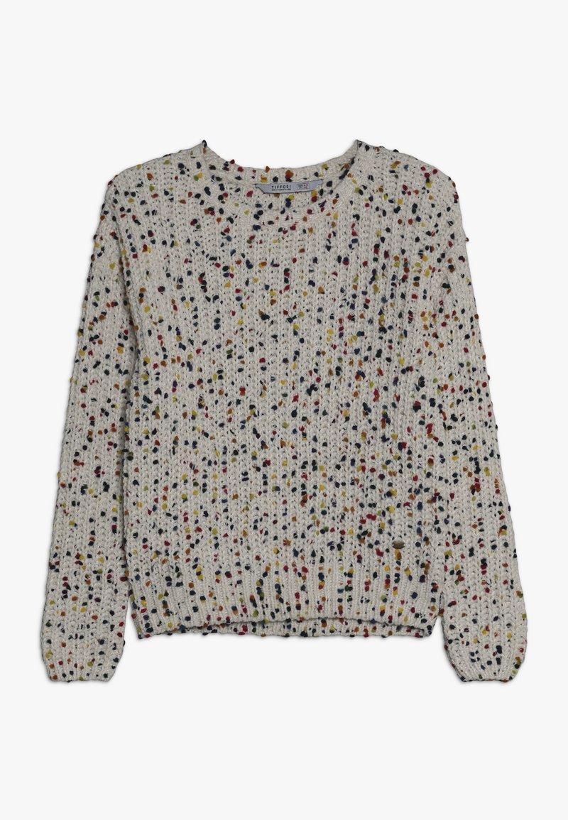 Tiffosi - ADRIANA - Stickad tröja - bege