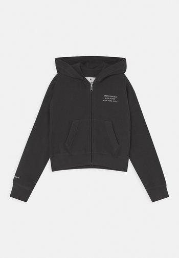 SOLID - Zip-up sweatshirt - charcoal