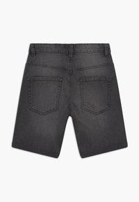 Benetton - Denim shorts - dark grey - 1