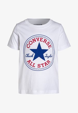 CHUCK PATCH - T-shirt med print - white