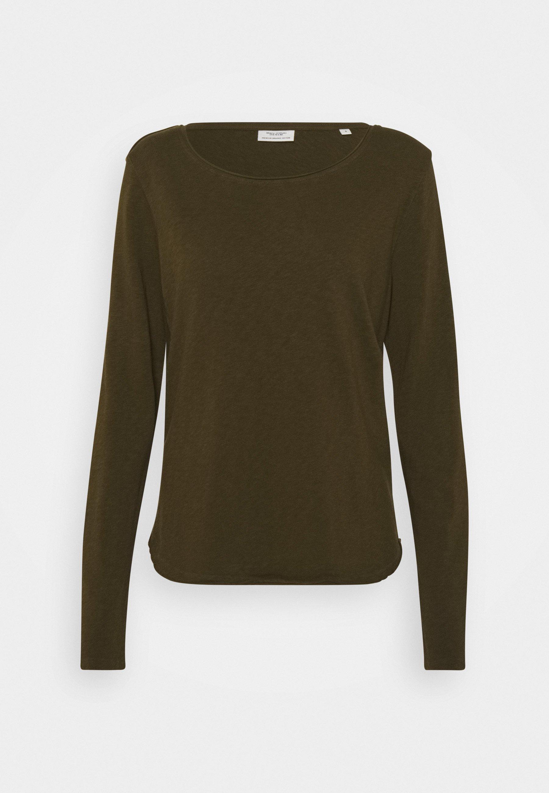Women LONG SLEEVE CREW NECK REGULAR FIT - Long sleeved top