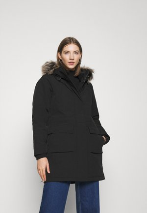 ONLNEWSALLY LONG COAT - Wintermantel - black