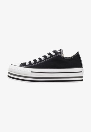 CHUCK TAYLOR ALL STAR PLATFORM LAYER - Zapatillas - black/white/thunder