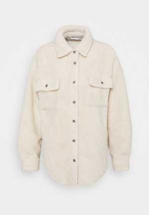 NMSAKIRAN LONG SHACKET - Bomber Jacket - eggnog