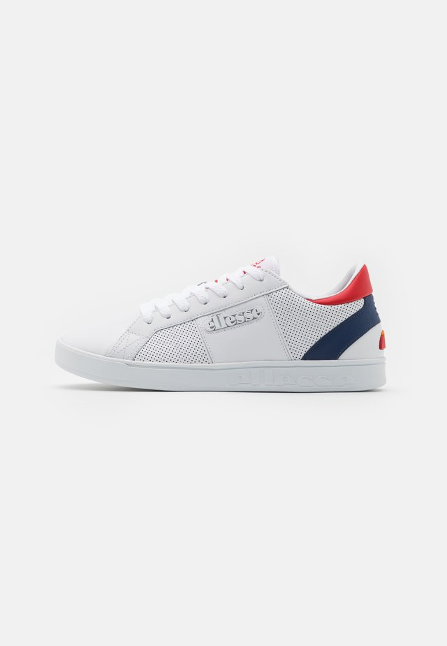 Trainers - white/dark blue/dark red