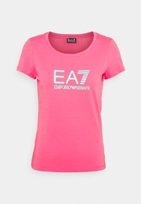EA7 Emporio Armani - Print T-shirt - pink - 0