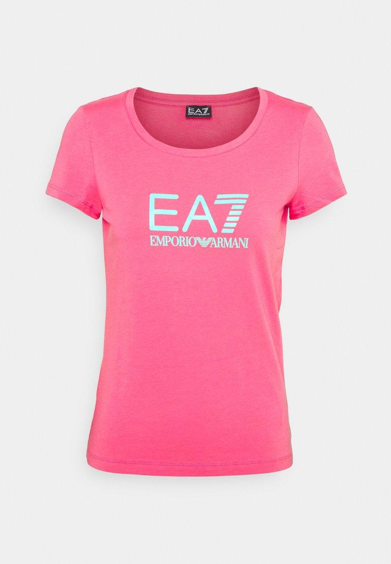 EA7 Emporio Armani - Print T-shirt - pink
