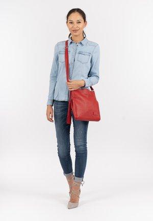 STACY - Handbag - red