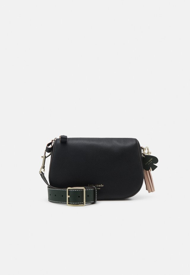 MEDIUM CROSSBODY - Axelremsväska - black/multi