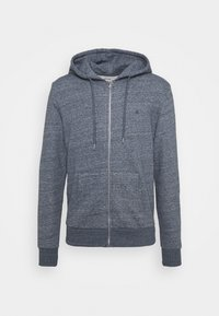 Jack & Jones - JJEBASIC ZIP HOOD - Zip-up hoodie - maritime blue melange - 5