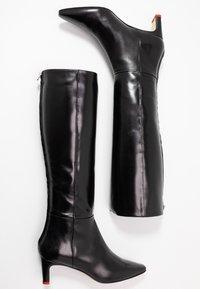 Aeyde - SIDNEY - Vysoká obuv - black - 3