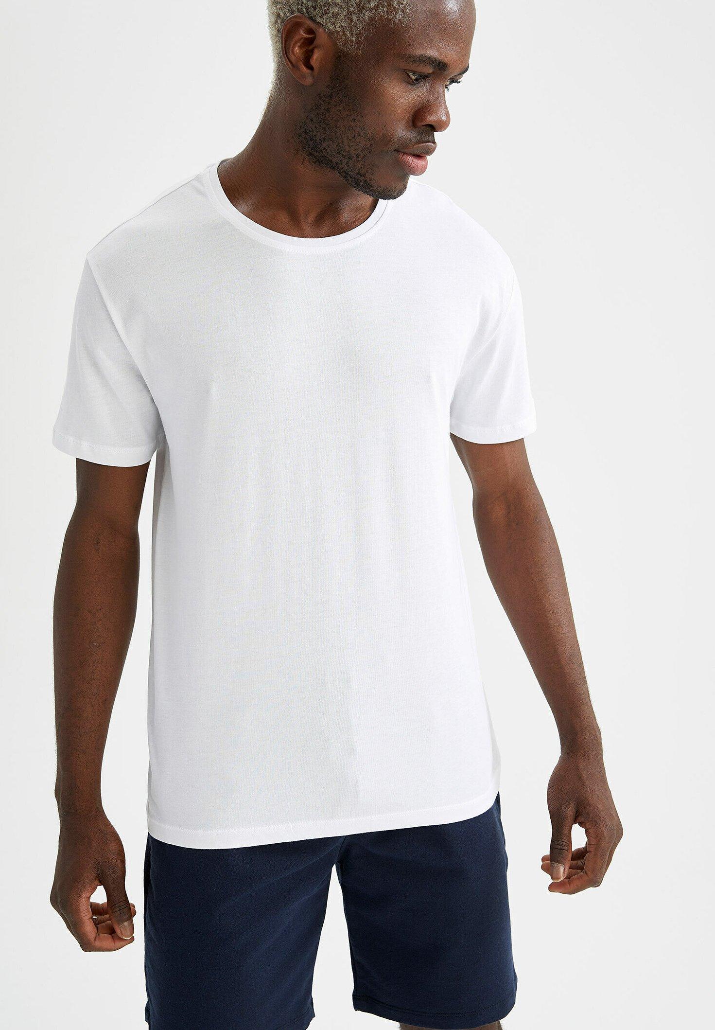 Homme REGULAR FIT  BASIC  - T-shirt basique