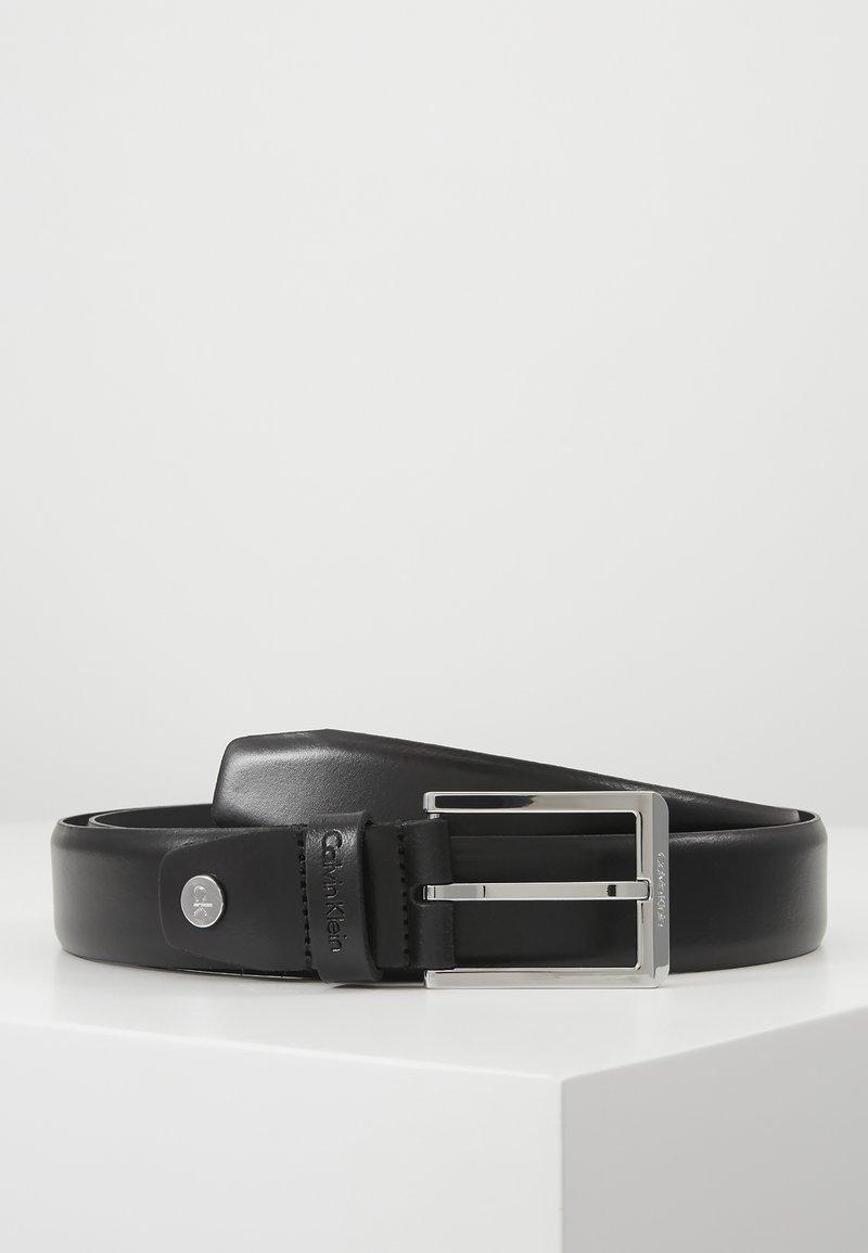 Calvin Klein - BOMBED BELT - Cinturón - black