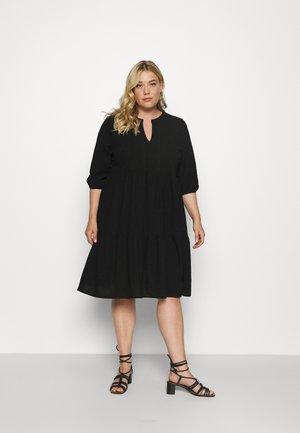 VMMANA ABOVE KNEE DRESS - Day dress - black