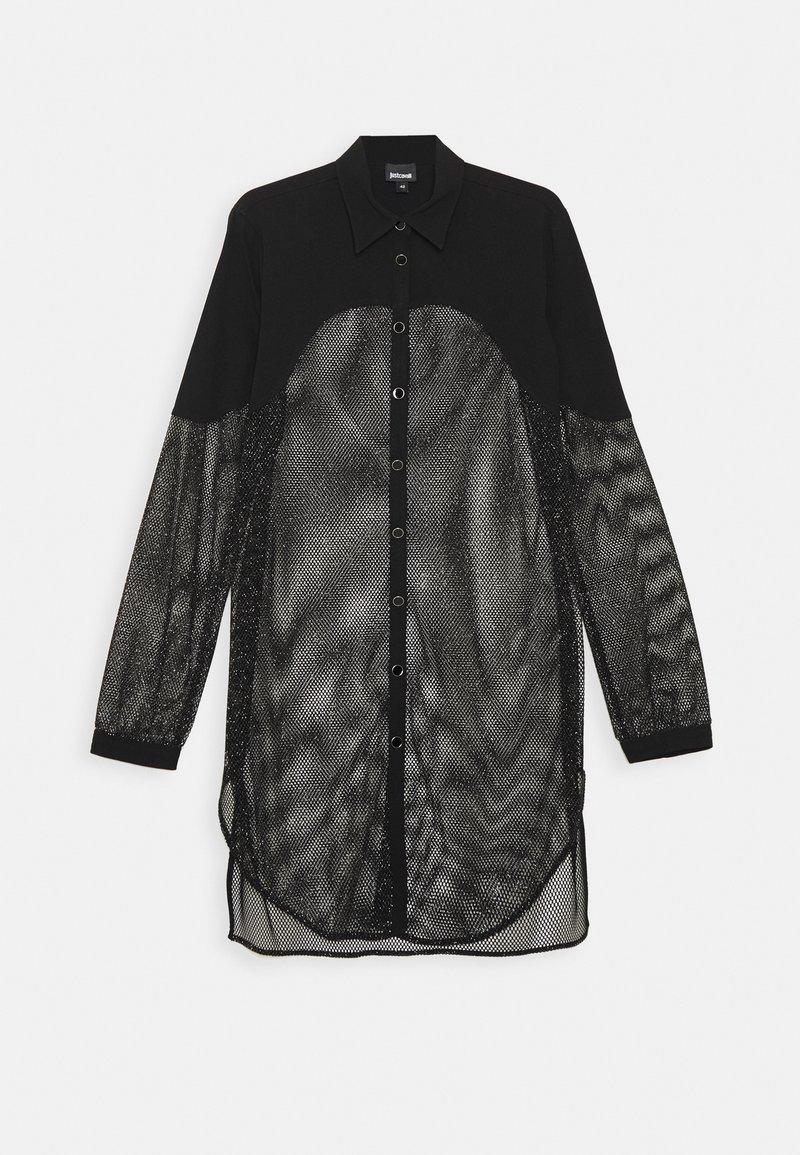 Just Cavalli - Košilové šaty - black
