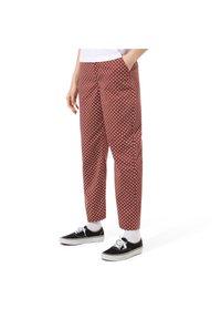 Vans - AUTHENTIC PRINT - Trousers - henna - 0