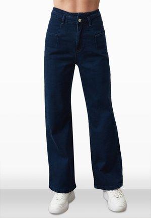 Vaqueros bootcut - navy blue