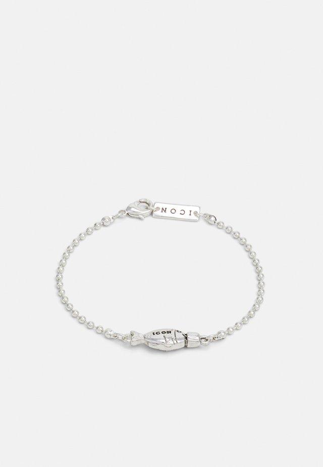 CONVERSATIONAL SOY FISH BRACELET - Bracelet - silver-coloured