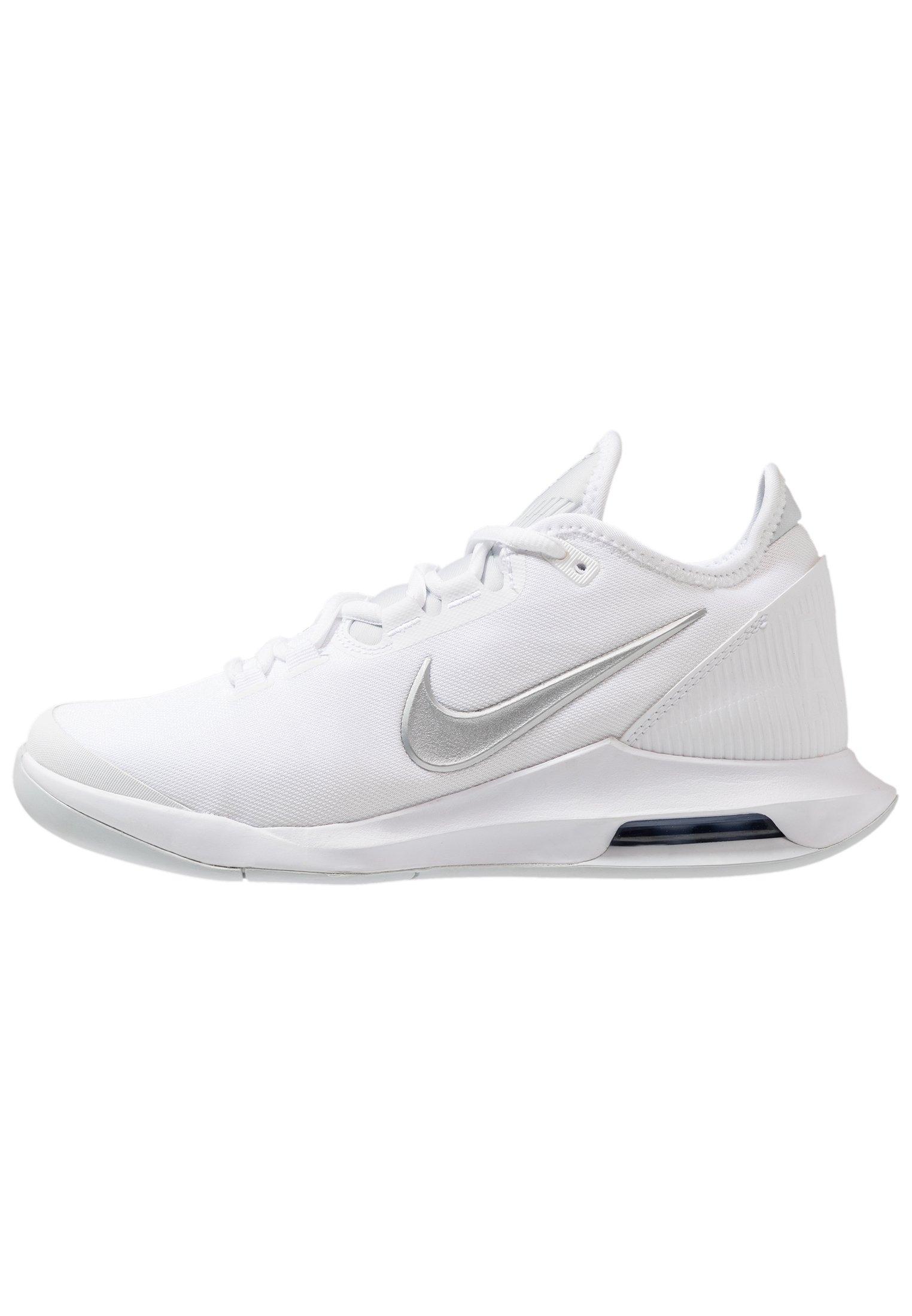 COURT AIR MAX WILDCARD - Chaussures de tennis toutes surfaces - white/metallic silver/pure platinum/aluminum