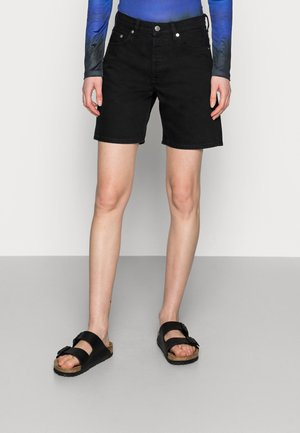 SHORTS - Denim shorts - black rinse