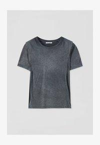 PULL&BEAR - Basic T-shirt - dark grey - 4