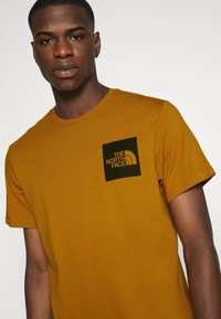 The North Face - FINE TEE - Print T-shirt - timber tan - 3