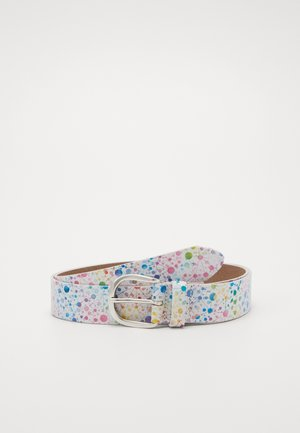 Belt - varied-white