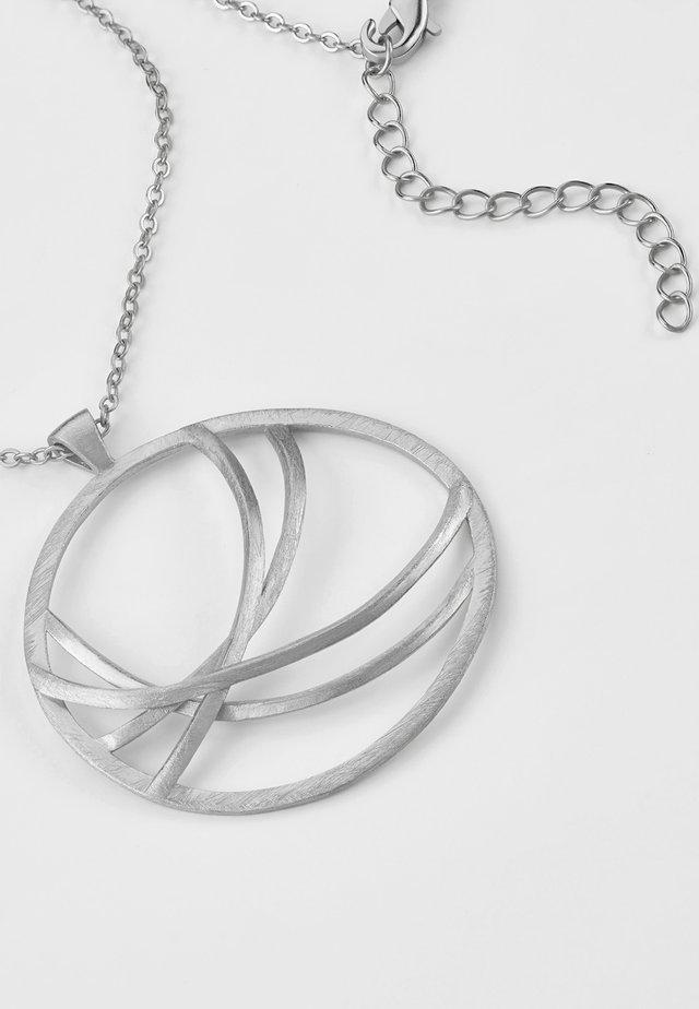 MIT DESIGN ELEMENTEN - Necklace - silver-coloured