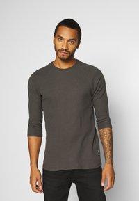YOURTURN - UNISEX - Long sleeved top - dark gray - 0