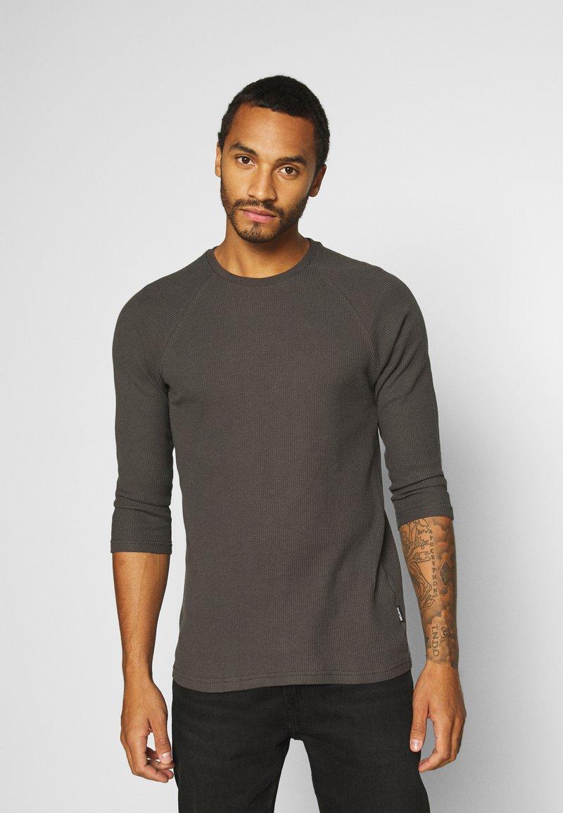YOURTURN - UNISEX - Long sleeved top - dark gray